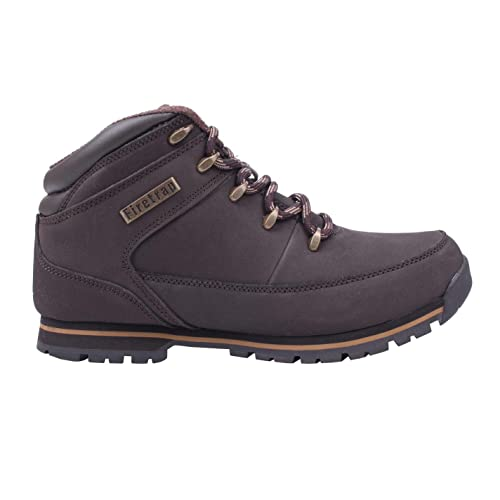 Buy Firetrap Mens Rhino Boots Rugged Padded Ankle High Shoes Brown .