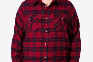Plaid Flannel Shirt| Big and Tall Flannel Shirts | King Si