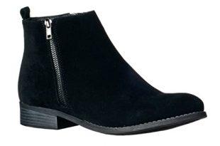 Women's Flat Ankle Boots: Amazon.c