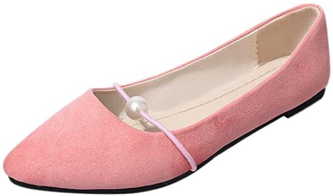 Amazon.com: Hemlock Women Office Flats Boat Sandals Low Heel Flat .