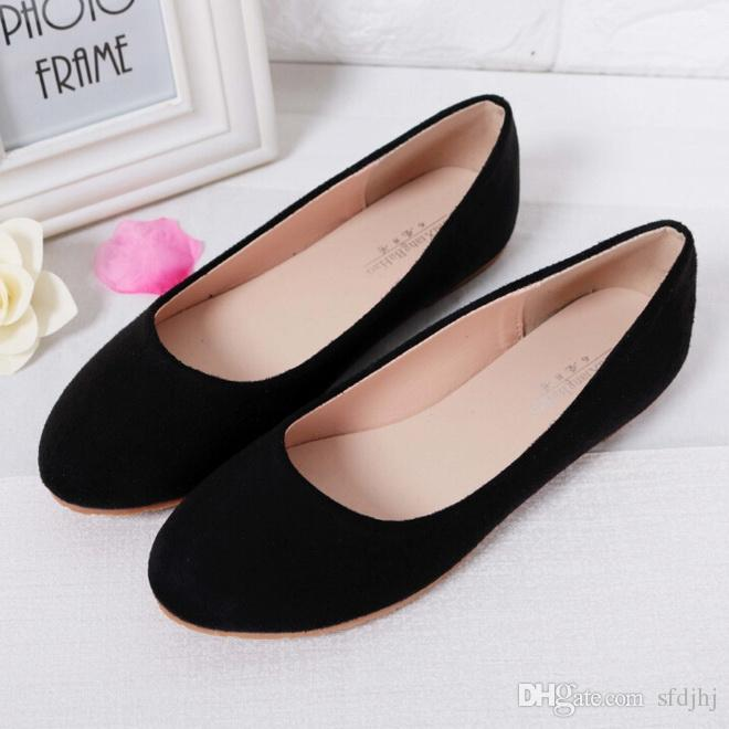 Spring Summer Ladies Shoes Ballet Flats Women Flat Shoes Woman .