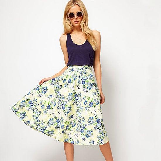 Best Flared Dresses and Skirts | POPSUGAR Fashi
