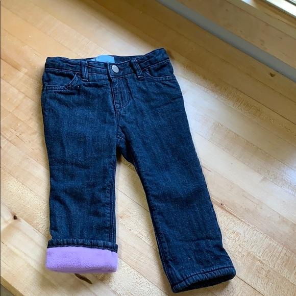GAP Bottoms | Baby Fleece Lined Jeans | Poshma