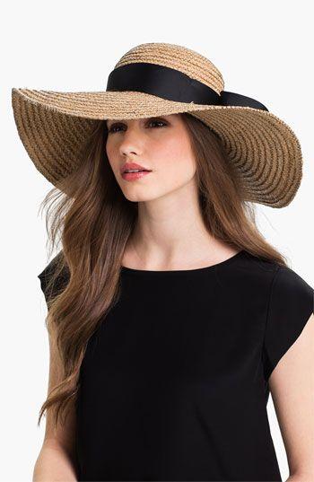 Jonathan Adler Floppy Straw Sun Hat | Floppy sun hats, Summer hats .