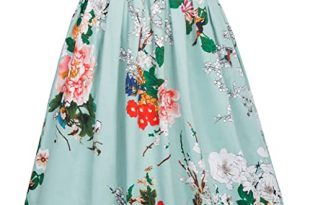 Floral Skirt: Amazon.c