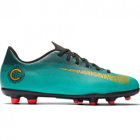Nike Mercurial Vapor 12 Club GS CR7 FG/MG JR Football sho