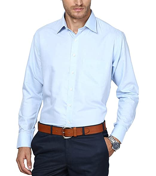Buy Michelangelo Regular Fit Formal Shirt For Men and Boys (Sky .