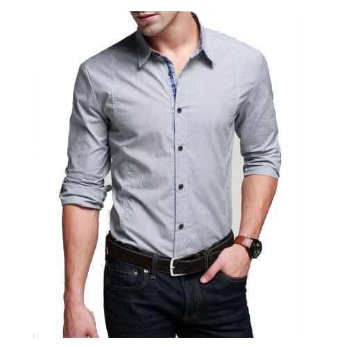 Men's Linen Full Sleeves Collar Neck Formal Shirt, Rs 470 /piece .