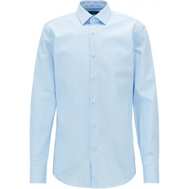 Boss Business|Boss Business Jesse Formal Shirt in Light Blue .