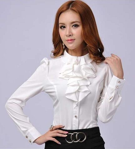 10 Best Formal Shirts for Women With Latest Designs | Blouses for .