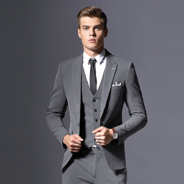 Sale Brand Mens Suit Jacket Formal Business Blazer Men Groom Three .