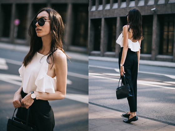Bea G - Top, Pants, Shoes, Bag, Watch - French Style | LOOKBO