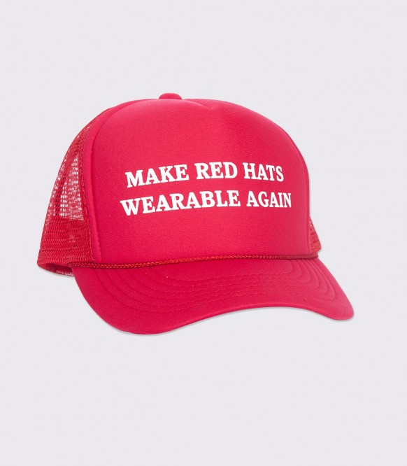 Make Red Hats Wearable Again Funny Trucker Cap / Hat | Headline Shir