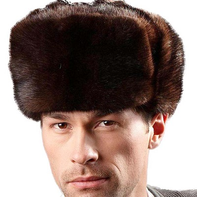 Classic Men's Mink Fur Hats | Fur Hat Wor