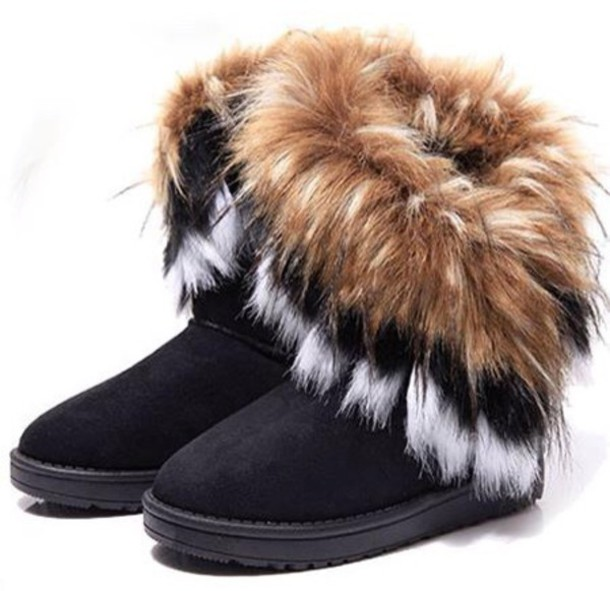 boots, furry boots, ugg boots, black boots, fur, shoes, furry fur .