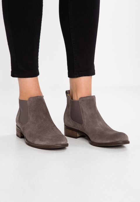 Gabor Ankle boots wallaby/beige Women's Round Shoe tip Boots Suede .