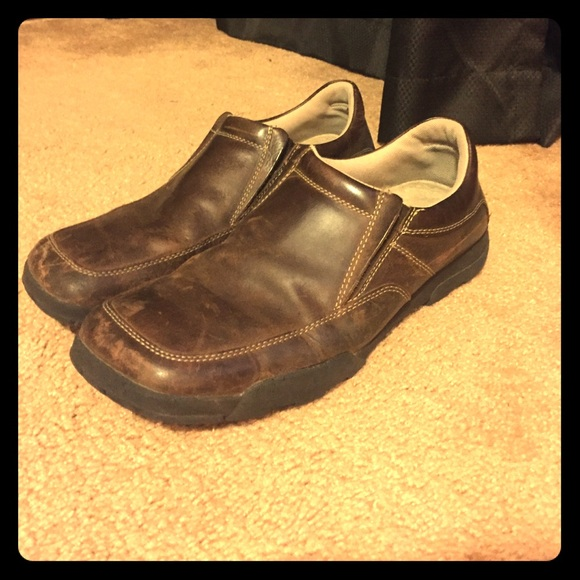 GBX Shoes | Great Brown Slipon Dress | Poshma