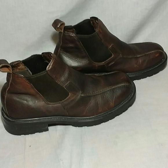 GBX Shoes | Mens Smooth Brown Boots 115 M Slipon | Poshma