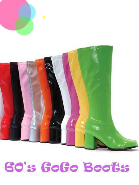 Buy Replica Patent 60's - 70's Go Go Boots - 6 Colors at .