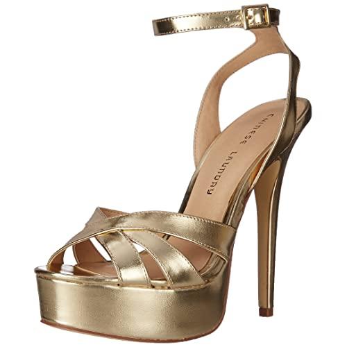 Gold Platform Heels: Amazon.c