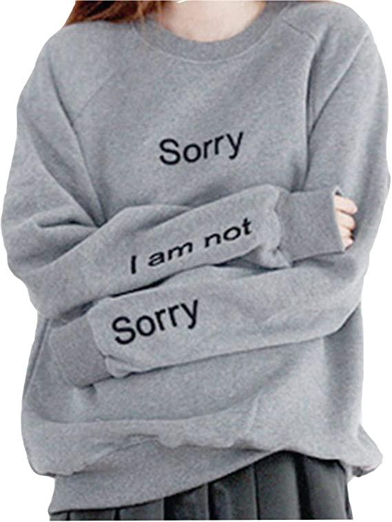 Tomteamell Womens Graphic Hoodies Long Sleeve Street Sweatshirts .