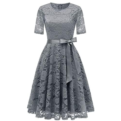 Grey Plus Size Dresses: Amazon.c