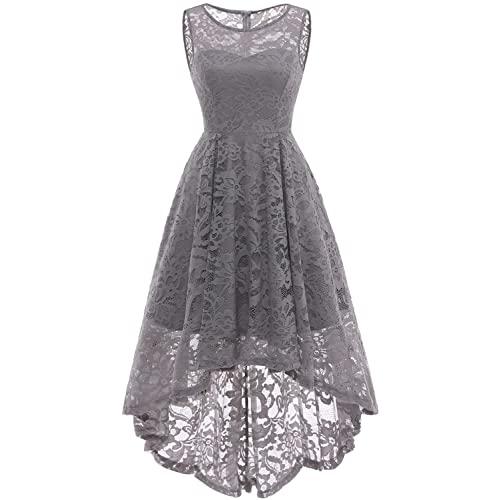 Grey Lace Dresses: Amazon.c