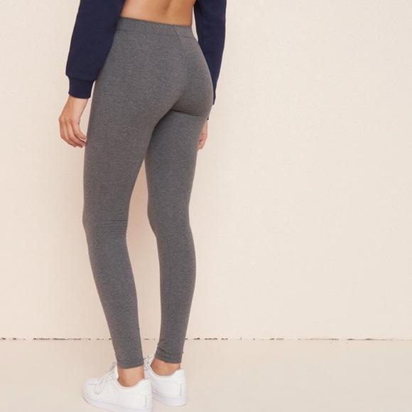 Garage Pants | Dark Grey Leggings | Poshma
