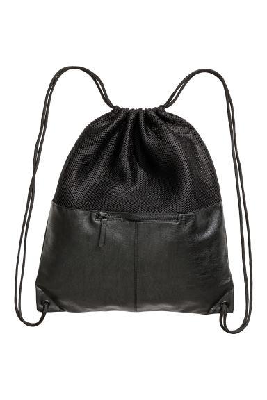 Mesh gym bag - Black - Men | H&M