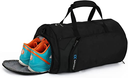 Amazon.com | INOXTO Fitness Sport Small Gym Bag with Shoes .