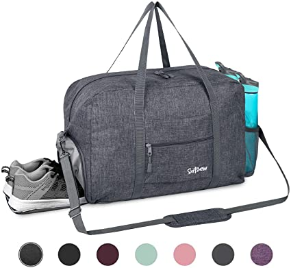 Amazon.com: Sports Gym Bag with Wet Pocket & Shoes Compartment .