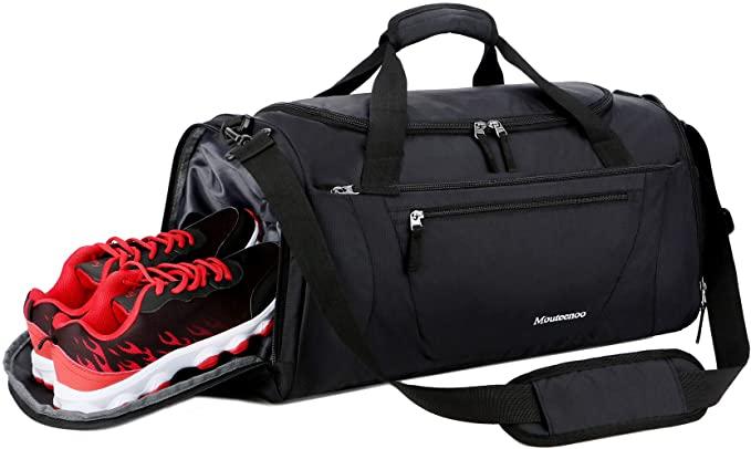 Amazon.com | Mouteenoo Gym Bag 40L Sports Travel Duffel Bag for .