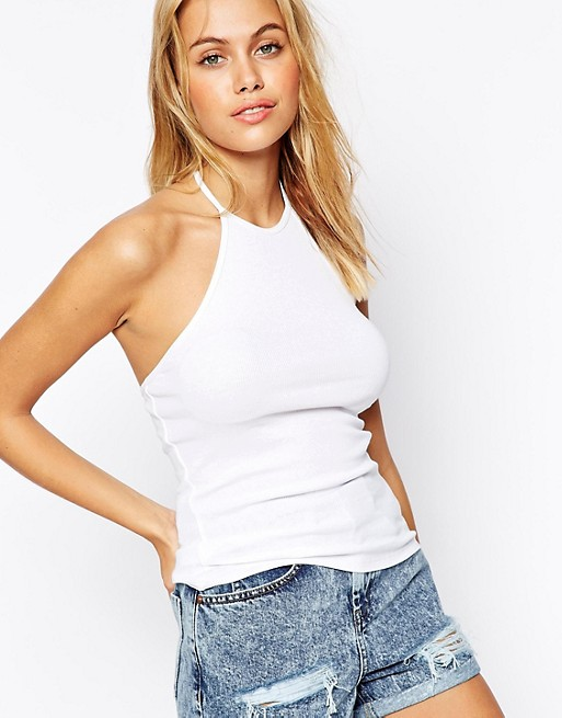 White Halter Top | WardrobeMag.c