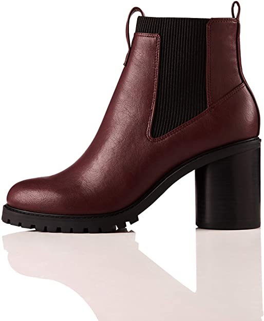 Amazon.com: Amazon Brand - find. Chunky Sole, Women's Chelsea .