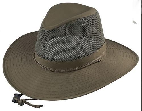 Henschel Hats Breezer Solar Weave Sun Hat/Olive #5220 - Andy .