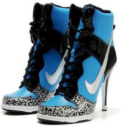 Tennis Shoes Stilettos | Nike high heels, Sneaker heels, Nike hee