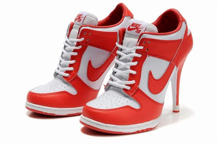Do Nike make high heel sneakers or are they all fakes .