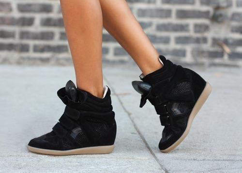 high heel sneakers | Tumblr | Isabel marant sneakers, Sneaker .