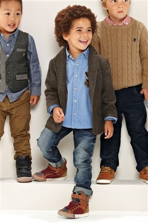 Next - Toddler Fashion..... minus the goofy high top shoes and .
