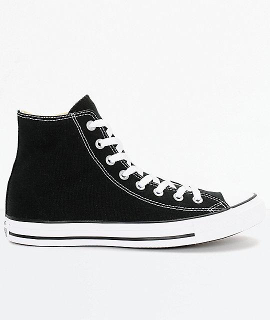 Converse Chuck Taylor All Star Black High Top Shoes | Zumi
