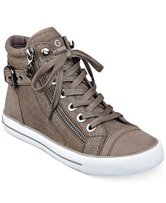 G by GUESS Women's Olama High Top Sneakers | Trending womens shoes .