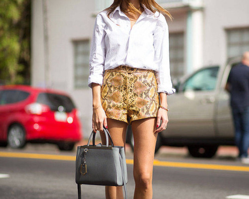 High Waisted Shorts: 25 Stylish Ways to Wear Them Now | StyleCast