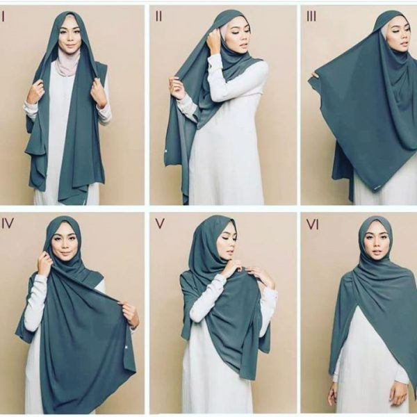 How to wear Hijab Tutorial in 2019 With 18 New Hijab Styl