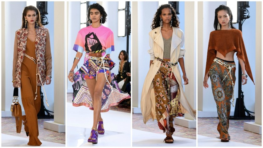 Paris Fashion Week: Hippie modernism meets the Mediterranean in .