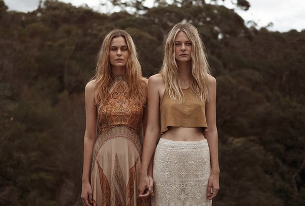 Enchanting Bohemian Lookbooks : hippie fashi