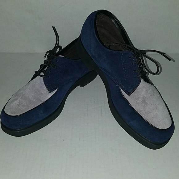 Hush Puppies Shoes | Hush Puppy Suede Twotone Oxford Sz 7 Women .