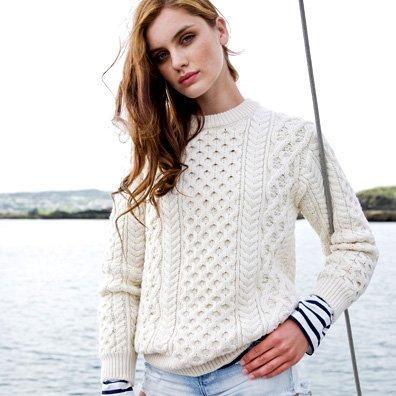 Irish Sweaters - Aran Sweaters | The Sweater Shop, Irela