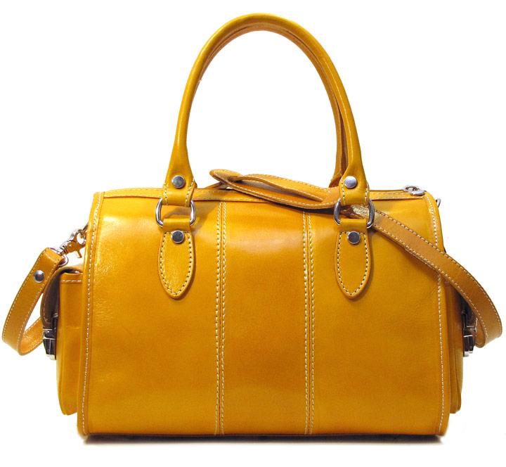 Venezia Italian Leather Handbag - Fenzo Italian Ba