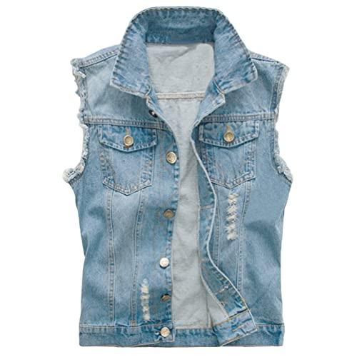 Jeans Vest: Amazon.c