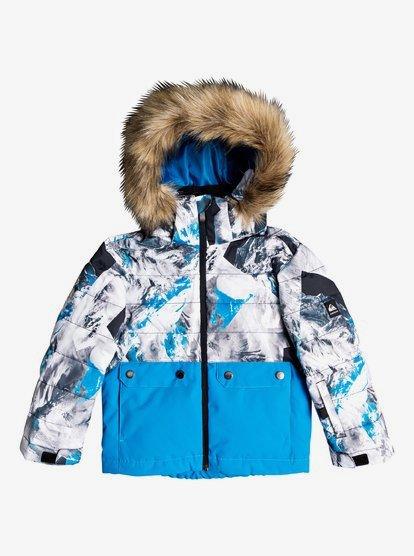 Boy's 2-7 Edgy Kids Snow Jacket 192504281563 | Quiksilv